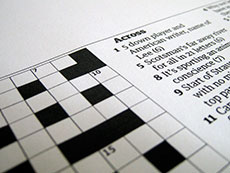 Custom crossword puzzles